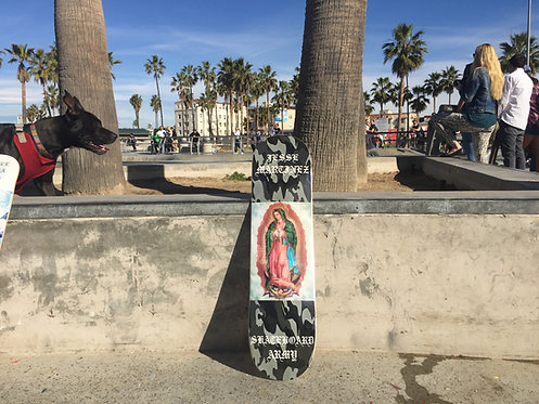 JESSE MARTINEZ VIRGIN MARY Skateboard Army Pro Model Deck