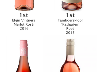 Results - Top6 Rose tasting on 16th February
