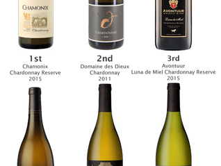 Results - Top6 Chardonnay tasting on 7th October