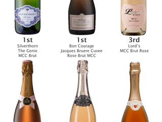 Results - Top6 Sparkling Rose tasting on 23rd February