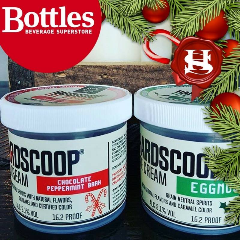 Egg Nog Using Heavy Cream: Eggnog And Peppermint Bark Now At Bottles Beverage
