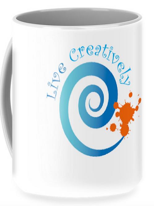 Live Creatively Coffee Mug