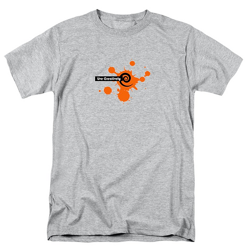 Orange Burst Men's T-Shirt