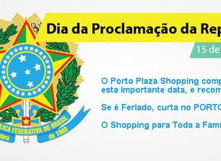 15/11 - Feriado Nacional