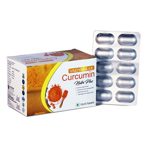 Curcumin Nutri Plus Tablets