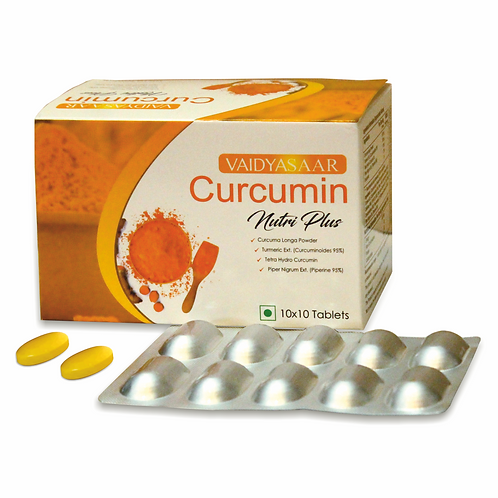 Curcumin Nutri Plus Tablets