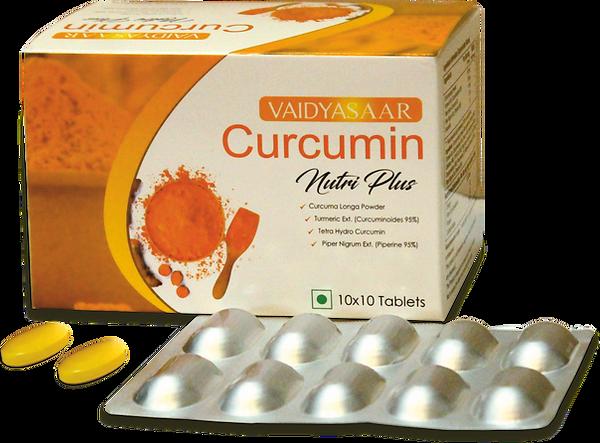 Vaidyasaar Curcumin Nutri Plus Tablets Strip