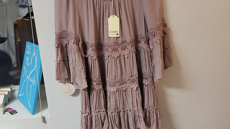 Layered lace shirt (small)