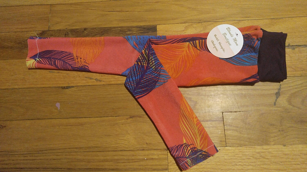 18-24 month Feather Leggings