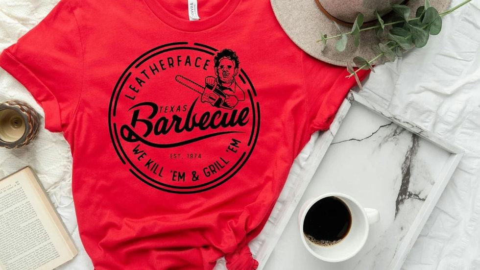 Leatherface BBQ T-shirt