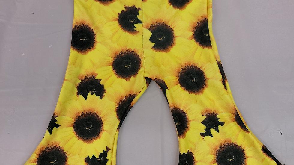 Sunflower Baby Bell Flare Bottoms