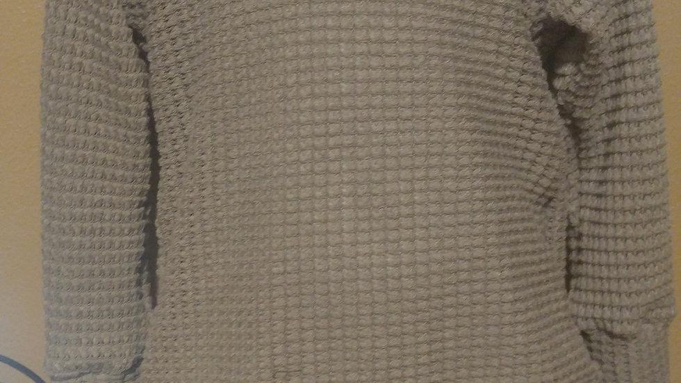 4T Waffle Knit Sweater