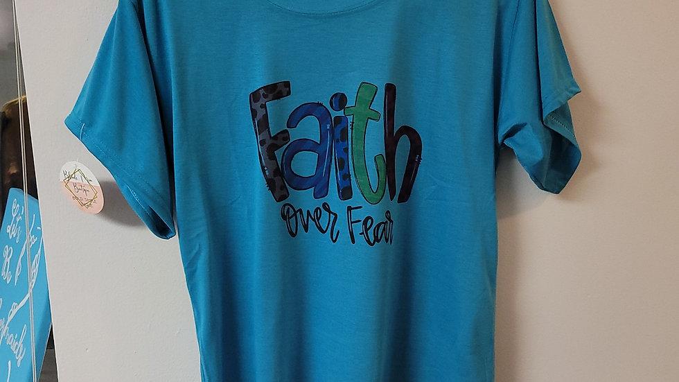 Faith over fear tee (small)