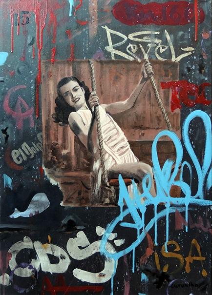 Entre graffitis