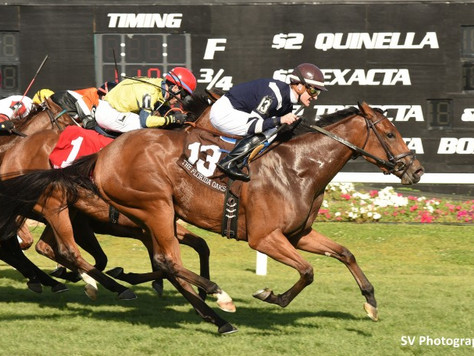 Equiano filly wins Florida Oaks