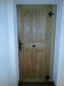 Türe renoviert