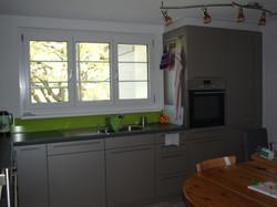 Küche in grau