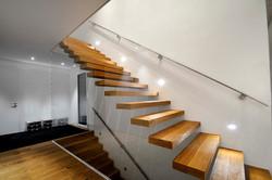 Treppe schwebend