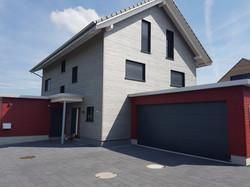 Holzfassade Haus