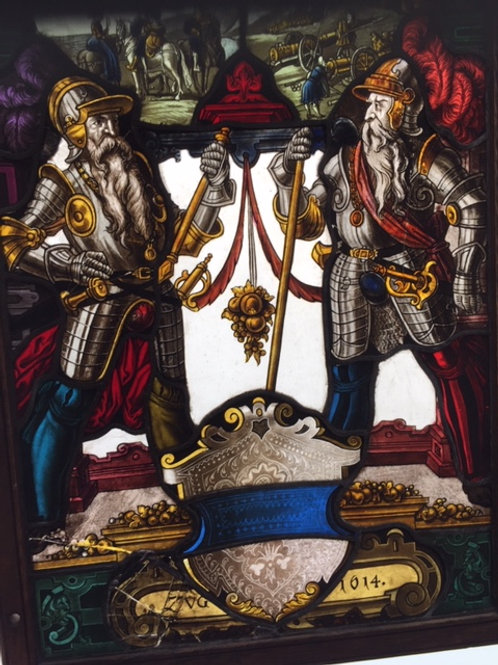 Glas in lood - 17e eeuw