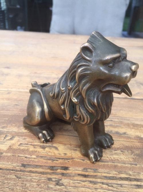 Bronzen Gotische leeuw
