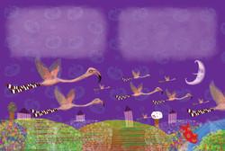 As meias dos Flamingos