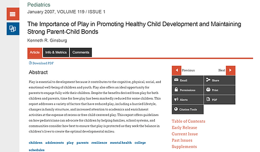 Child bonds article
