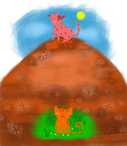 O Gato do Mato e o Cahorro do Morro