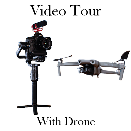 Video Real Estate Tour with Drone