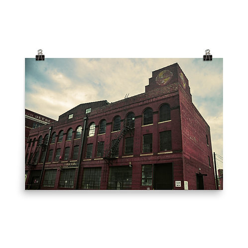 Poster of a Building in the West Bottoms of Kansas City
