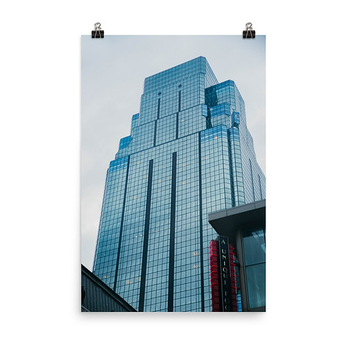 Poster of the Outside of the One Kansas City Place Building