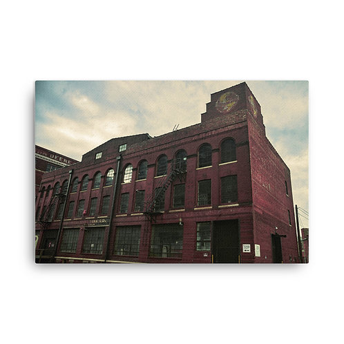 Canvas of a Building in the West Bottoms of Kansas City