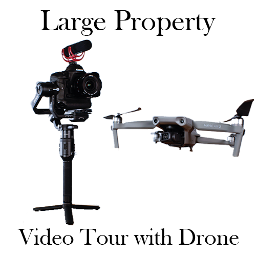 Larger Property with Drone Video Tour