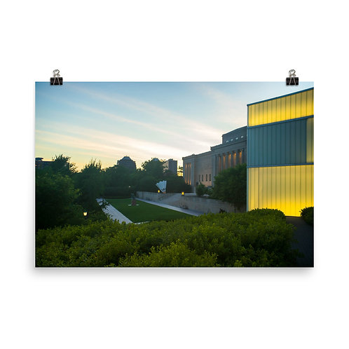 Poster of the Outside of the Nelson-Atkins