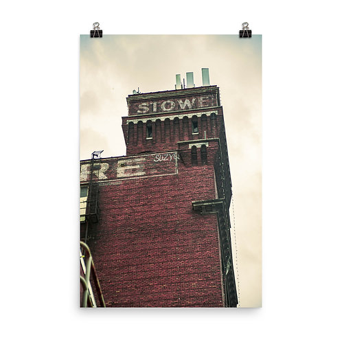 Poster of the Stowe Building in the West Bottoms of Kansas City
