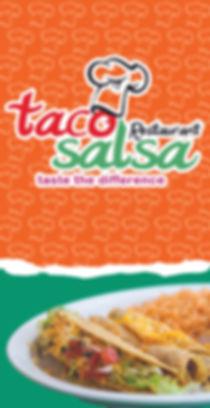 Menu TACO SALSA