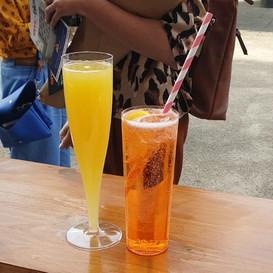 Mimosa & Aperol Spritz