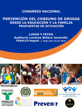INVITACIÓN CONGRESO NACIONAL  - PREVENCIÓN DEL CONSUMO DE DROGAS 30 y 31 MAYO