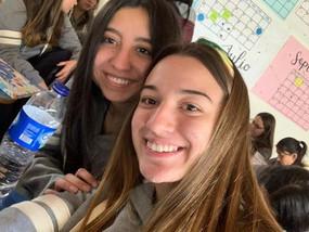 Felicitamos a Valentina Rodríguez Téllez y Juanita Angel de grado 11, nuevas personeras 2019