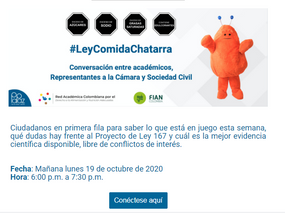 RedPapaz - Ley Comida chatarra
