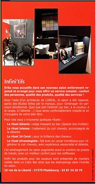 Phalsbourg info - salon coiffure infinitifs Mars 2016