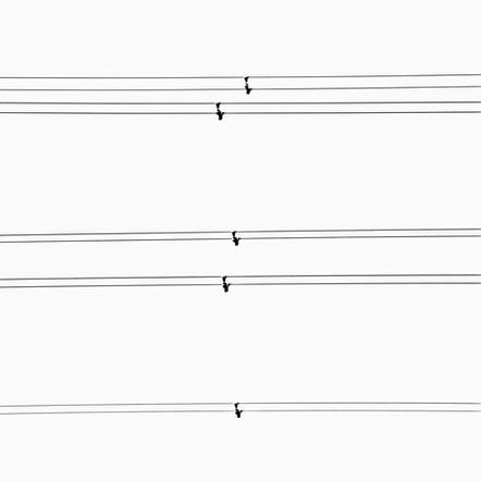 """Composition #"", 2008, by Ryan J. Bush"