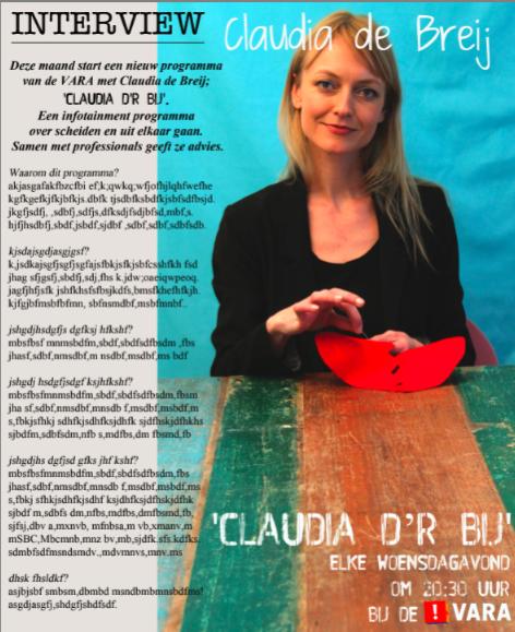 Claudia d'r Bij
