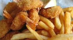 Shrimp Basket And Fries