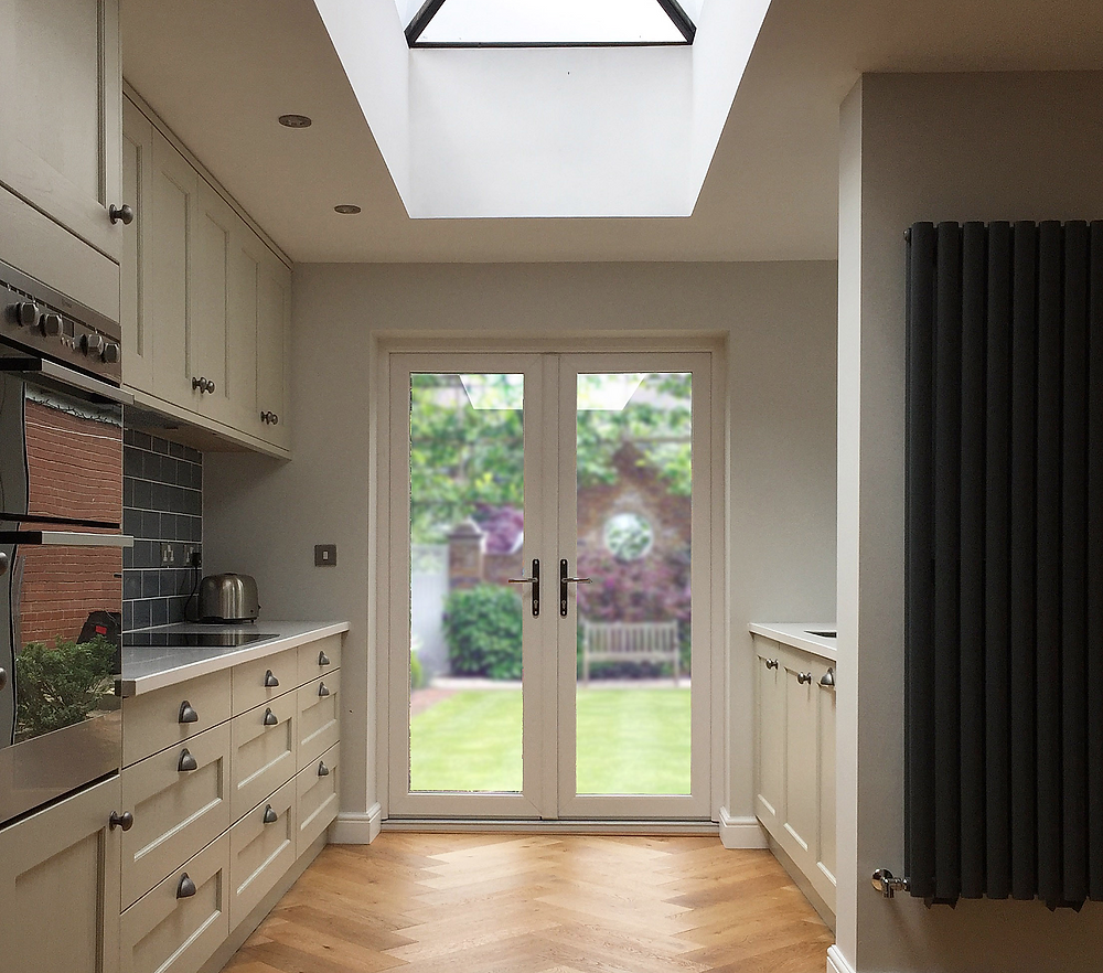 A classically look with a scandi modern twist finishes the recently completed extension and ground floor remapping to this 1930's family home in Sprotborough, South Yorkshire.