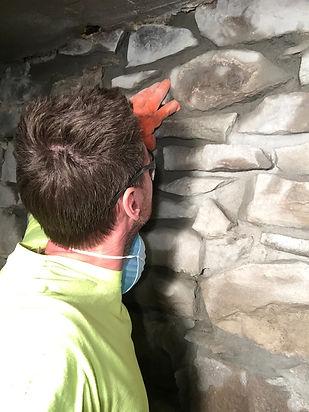 Water proofing basement