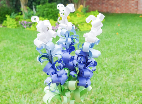DIY Paper Bluebonnets - A Special Gift During The Coronavirus Pandemic