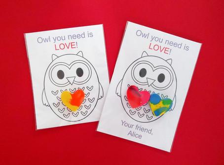 Valentine's Gift - DIY Coloring Kit