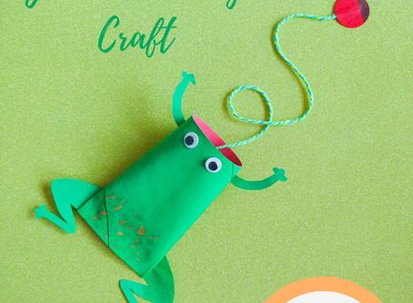 Good-Luck Frog Craft
