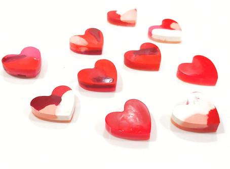 DIY Heart-Shaped Crayons